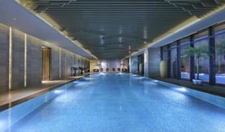 兰州万达文华酒店游泳池