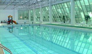 山东统计局游泳池
