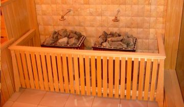 北京九五行宫酒店桑拿房